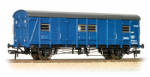 39-528 Bachmann Branchline  Covered Carriage Truck (CCT) in BR Blue (weathered) livery